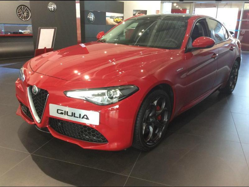 alfa romeo giulia 2 0 tb 280ch veloce q4 at8 occasion n 47909 sipa automobiles. Black Bedroom Furniture Sets. Home Design Ideas