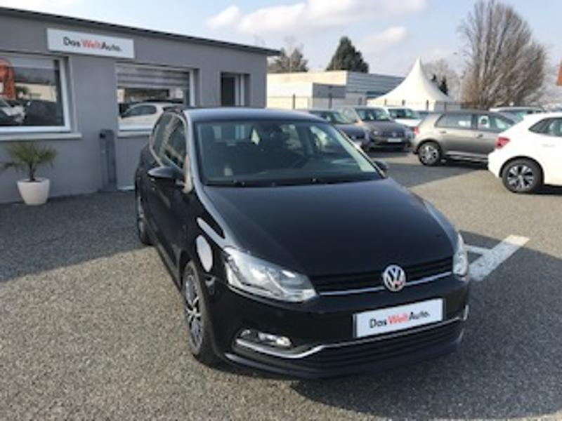 Photo n°4 de la voiture Volkswagen Polo 1.2 TSI 90ch BlueMotion Technology Allstar 5p occasion disponible chez votre concessionnaire à 12 690 €