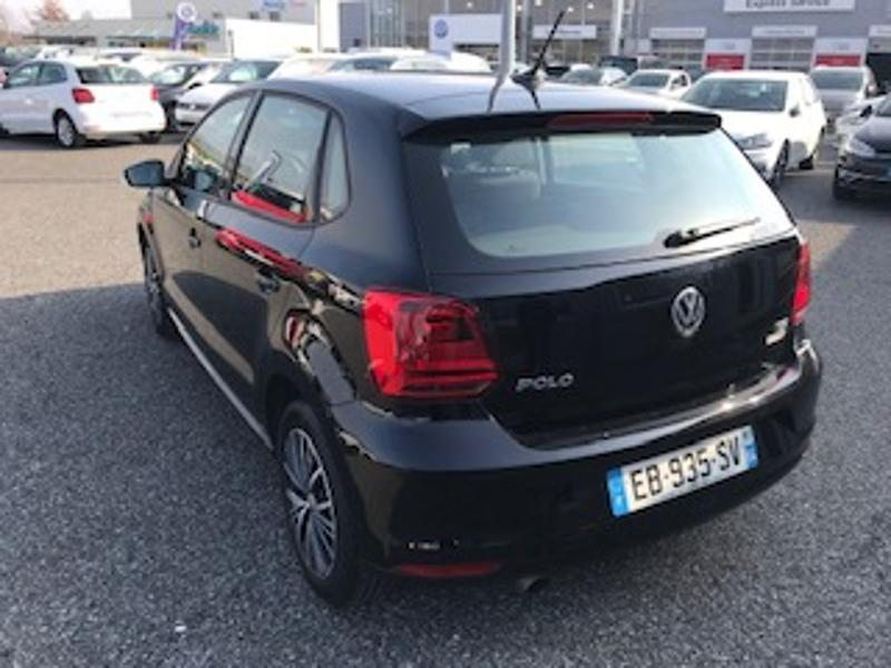 Photo n°6 de la voiture Volkswagen Polo 1.2 TSI 90ch BlueMotion Technology Allstar 5p occasion disponible chez votre concessionnaire à 12 690 €