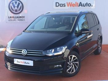 Achat VOLKSWAGEN Touran 1.6 TDI 115ch BlueMotion Technology FAP Sound 7 places occasion à Lescar à 25890 €