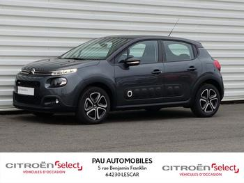 CITROEN C3 PureTech 82ch Feel Business 105g occasion éligible à la prime à la conversion en vente à Lescar à 12990 €