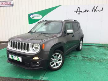 Achat JEEP Renegade 1.6 MultiJet S&S 120ch Limited occasion à Toulouse à 18990 €