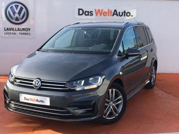 VOLKSWAGEN Touran 2.0 TDI 150ch BlueMotion Technology FAP R-Line DSG6 7 places occasion éligible à la prime à la conversion en vente à Lescar à 28990 €