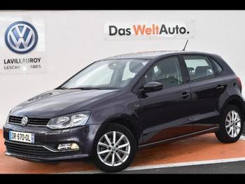 VOLKSWAGEN Polo 1.4 TDI 90ch BlueMotion Technology Lounge 5p occasion éligible à la prime à la conversion en vente à Lescar à 12890 €