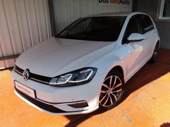 VOLKSWAGEN Golf 1.6 TDI 115ch BlueMotion Technology FAP Carat Exclusive 5p occasion éligible à la prime à la conversion en vente à Lescar à 18990 €