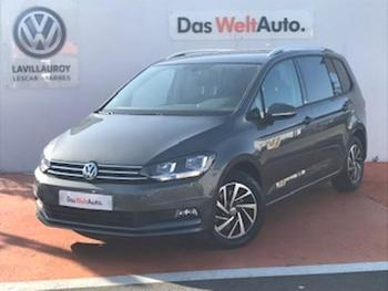 VOLKSWAGEN Touran 1.6 TDI 115ch BlueMotion Technology FAP Connect 7 places occasion éligible à la prime à la conversion en vente à Lescar à 24890 €