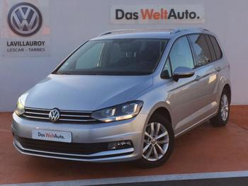 VOLKSWAGEN Touran 1.6 TDI 115ch BlueMotion Technology FAP Confortline Business DSG7 7 places occasion éligible à la prime à la conversion en vente à Lescar à 19990 €