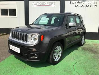 JEEP Renegade 1.6 MultiJet S&S 120ch Limited occasion éligible à la prime à la conversion en vente à Toulouse à 18790 €