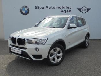 BMW X3 sDrive18dA 150ch Lounge Plus Start Edition occasion éligible à la prime à la conversion en vente à Boé à 26590 €