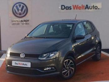 VOLKSWAGEN Polo 1.4 TDI 90ch BlueMotion Technology Match 5p occasion éligible à la prime à la conversion en vente à Lescar à 13890 €
