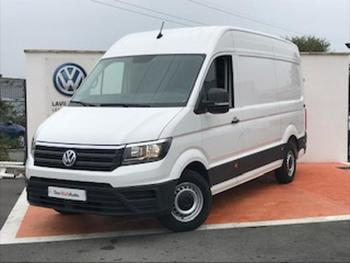VOLKSWAGEN Crafter 35 L3H3 2.0 TDI 140ch Business Line Traction occasion éligible à la prime à la conversion en vente à Lescar à 23890 €